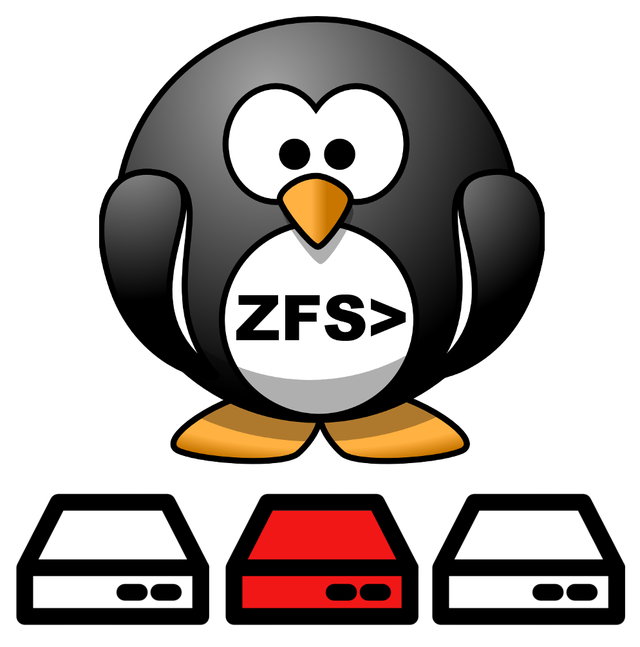 Replace a disk in a ZFS pool